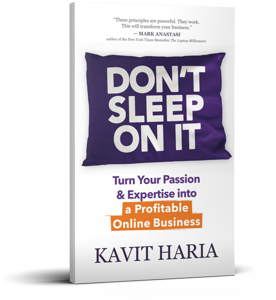 kavit haria dont sleep on it book